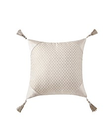 "Gisella 18"" X 18"" Square Decorative Pillow"