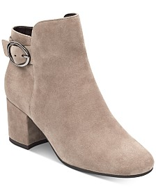 Easy Spirit Brandy Block-Heel Booties