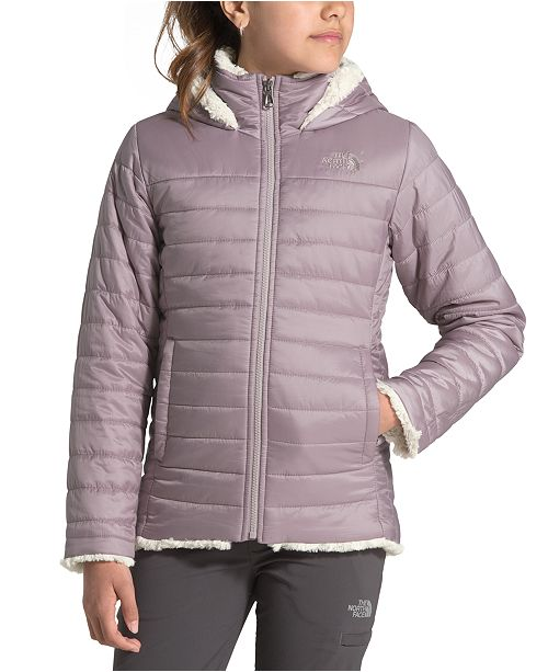 The North Face Little & Big Girls Mossbud Swirl Hooded Jacket
