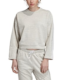 adidas Must Have Melangé Cropped Sweatshirt