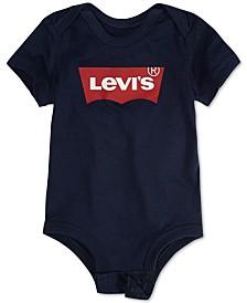 Levi's® Baby Boys Logo-Print Cotton Bodysuit
