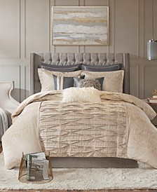 Allure Queen 8-Pc. Comforter Set