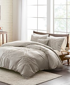 Madison Park Giselle 4-Pc. Tufted Seersucker Duvet Sets