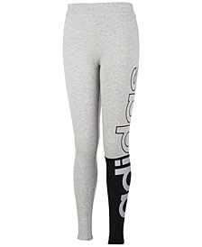 Little Girls Linear Split Tights