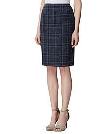 Petite Tweed Skirt