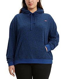 Levi's® Trendy Plus Size  Graphic Hoodie