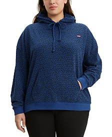 Levi's® Trendy Plus Size  Graphic Hoodie