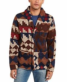 Men's Western Cardigan Sweater