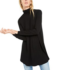 Eileen Fisher Turtleneck Tunic Top, Regular & Petite