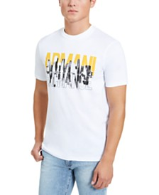 A|X Armani Exchange Men's City Logo T-Shirt, Created for Macy's