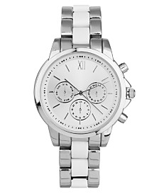 I.N.C. Women's Silver-Tone Bracelet Watch 38mm, Created for Macy's