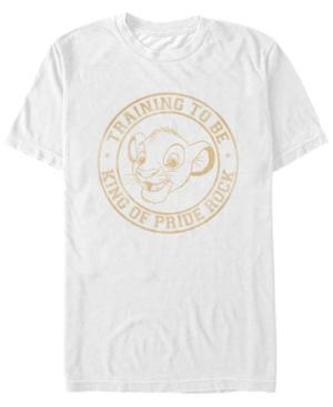Simba King In Training Short Sleeve T-Shirt