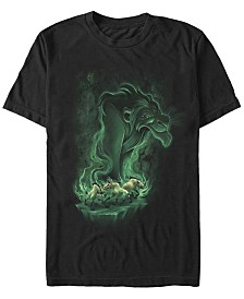 Disney Men's The Lion King Be Prepared for Trouble Short Sleeve T-Shirt