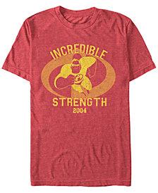 Disney Pixar Men's Incredibles Strength Mr. Incredible Short Sleeve T-Shirt
