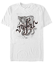 Disney Men's Live Action Jafar Cobra Sketch Short Sleeve T-Shirt