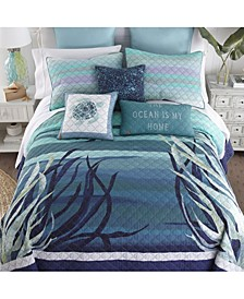 Summer Surf Cotton Quilt Collection