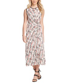 DKNY Twisted Midi Dress