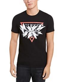 GUESS Men's Exploding Logo T-Shirt