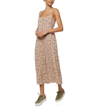 O'neill Juniors' Bettie Midi Tank Dress In Neutrals