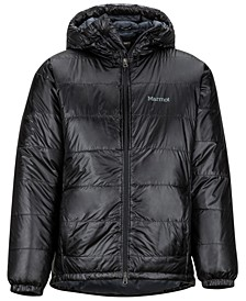 Men's West Rib Down Hooded Parka Jacket