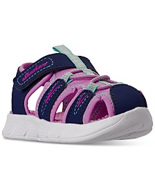 Skechers Toddler Girls C-Flex Stay-Put Closure Sport Sandals