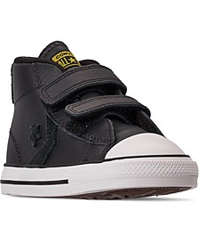 Toddler Boys Star Player 3V Asteroid Mid Top Casual Sneakers from Finish Line