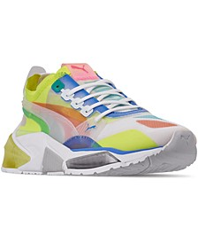Women's LQDCELL Optic Sheer Casual Athletic Sneakers from Finish Line