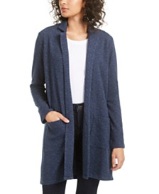 Lucky Brand Textured Cardigan Sweater