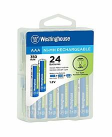 AAA 1.2V Always Ready Solar Battery (24 Pack)