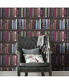 Graham Brown Book Shelf Wallpaper