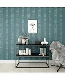 Graham Brown Mara Stripe Turquoise Wallpaper