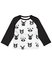 First Impressions Toddler Boys Colorblocked Raglan Printed T-Shirt, Created for Macy's