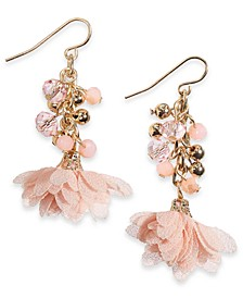 INC Gold-Tone Shaky Bead Drop Earrings, Created For Macy's