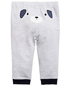Toddler Boys Puppy-Print Jogger Pants, Created for Macy's