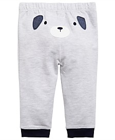 First Impressions Baby Boys Puppy Jogger Pants, Created for Macy's
