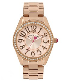 Betsey Johnson Rose Gold Watch 40mm