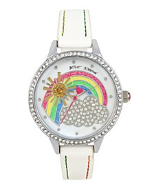 Crystal Rainbow Motif Dial Watch 39mm