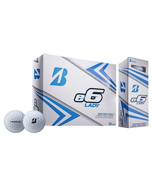 Sportsman's Supply Bridgestone 2019 E6 Lady Golf Ball - Dozen