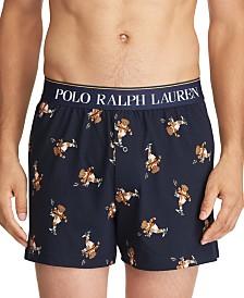 Polo Ralph Lauren Men's Bear Print Knit Boxers