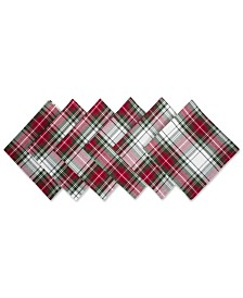 Design Imports Christmas Plaid Napkin Set