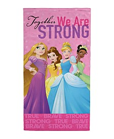 Disney Princess Power Beach Towel