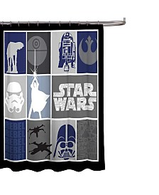 Star Wars Classic Shower Curtain