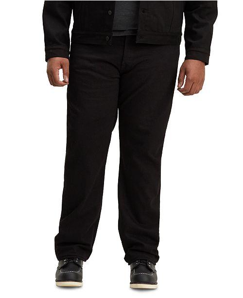 Levi's Men's Big and Tall 501 Original Fit Stretch Jeans