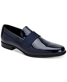 Men's Demetrius Patent Leather Tuxedo Loafers