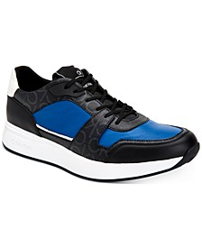 Men's Dudley Low Top Logo Fashion Sneakers