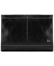 The Sak Iris Leather Crossbody Clutch