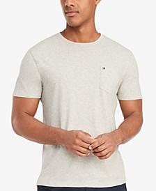 Men's Tommy Crew Neck Pocket T-Shirt