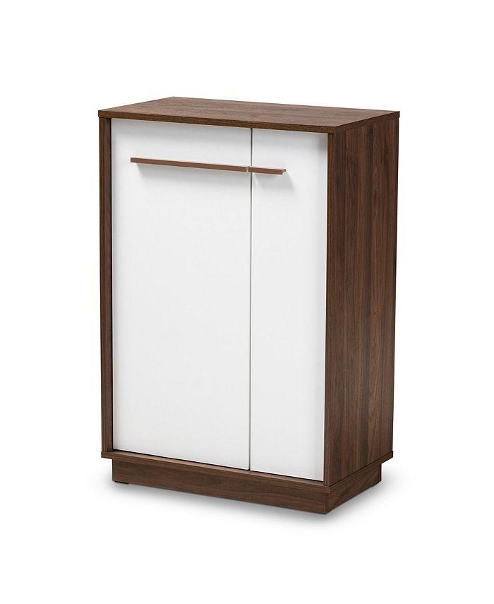 Furniture - Mette Shoe Cabinet, Quick Ship