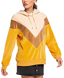 Juniors' Chasing Waves Colorblocked Hoodie