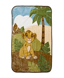 Lion King Urban Jungle Luxury Plush Throw Blanket